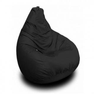 Кресло-мешок ЭТ_ Черное I, ткань оксфорд