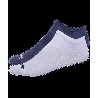 Носки низкие Starfit Sw-205, голубой меланж/синий меланж, 2 пары размер 43-46