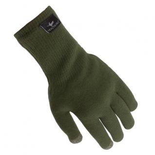 Sealskinz Перчатки SealSkinz Ultra Grip, цвет оливковый