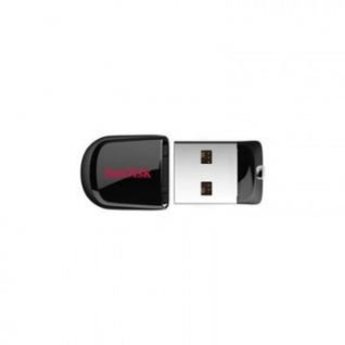 Флеш-память SanDisk Cruzer Fit, 32Gb, USB 2.0, черный, SDCZ33-032G-G35