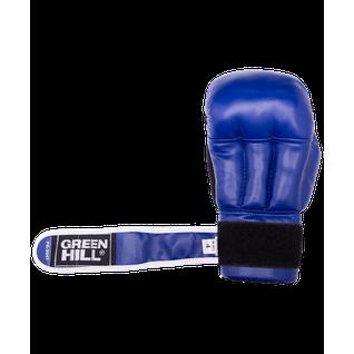 Перчатки для рукопашного боя Green Hill Pg-2047, к/з, синий размер L