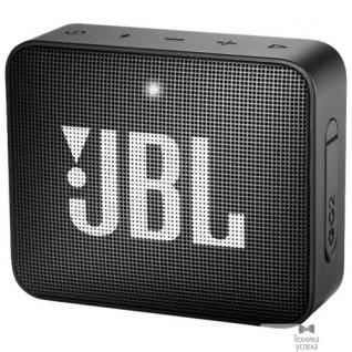 Jbl JBL GO 2 черный 3W 1.0 BT/3.5Jack 730mAh (JBLGO2BLK)