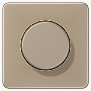 Крышка Jung CD1540GB роторных диммеров (спутников, потенциометров) золотая бронза металл