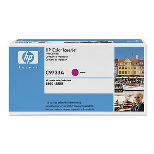 Оригинальный картридж HP C9733A для HP CLJ 5500, 5550 (пурпурный, 12000 стр.) 706-01 Hewlett-Packard 852612 1