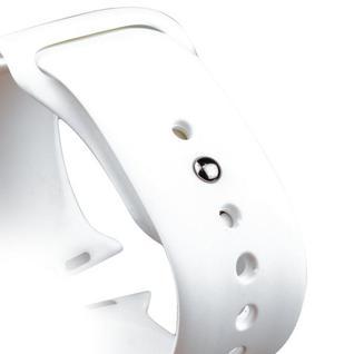 Ремешок спортивный COTEetCI W3 Sport Band (CS2086-WH) для Apple Watch 44мм/ 42мм Белый