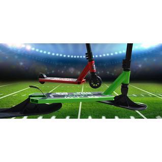 Самокат трюковый Ateox Jump 2020 (черный/зеленый)