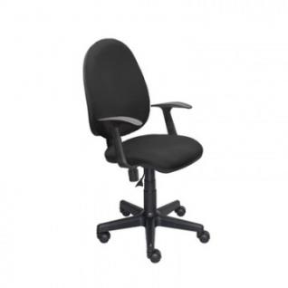 Кресло UP_EChair 325 PC ткань черная С11, пластик