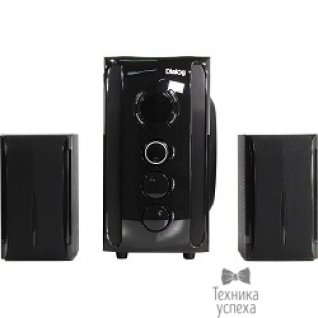 Dialog Dialog Progressive AP-209 BLACK - акустические колонки 2.1, 30W+2*15W RMS,Bluetooth,FM,USB+SD reader