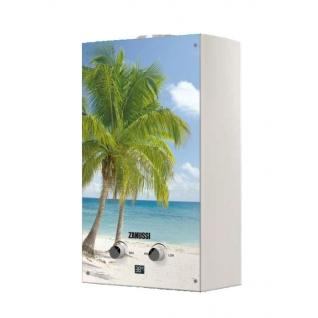 Газовый проточный водонагреватель 16-21 кВт Zanussi GWH 10 Fonte Glass Paradiso