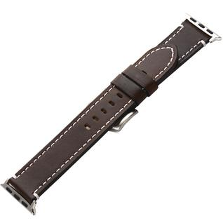 Ремешок кожаный COTEetCI W35 Homag Leather Band (WH5258-BR) для Apple Watch 40мм/ 38мм Коричневый