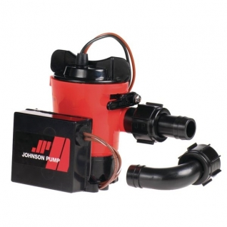 Johnson Pump Помпа трюмная погружная Johnson Pump Ultima Combo L650 UC 32-1650UC-01-24 24 В 63 л/мин 19 мм со штуцерами Dura-Port