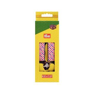 Подтяжки PRYM Kids Clip 25 70 с зажимами Руки розовый цветные точки
