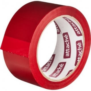 Клейкая лента упаковочная ATTACHE 48мм х 66м 45мкм красный