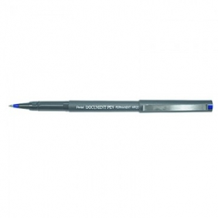 Роллер PENTEL Document Pen 0,3мм метал.клип, синий ст. Япония