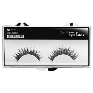JUST - Накладные ресницы классические черные EyeLashes 1013
