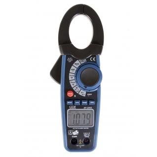 Профессиональные токовые клещи СЕМ DT-3343