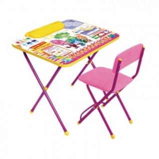 Мебель для гостиниц ET_Комплект Фиксики Знайка (стол+стул) Ф1З