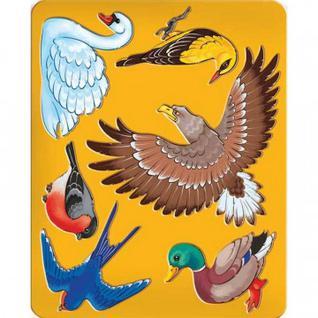Трафарет Птицы Луч, 9C 449-08
