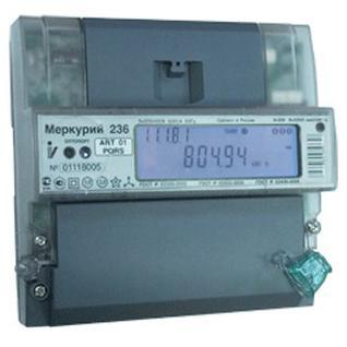 Электросчетчик Меркурий 236 АRТ-02 PQL