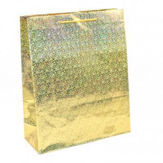 Пакет подарочный голография (26х32х10см) микс Арт.000LC