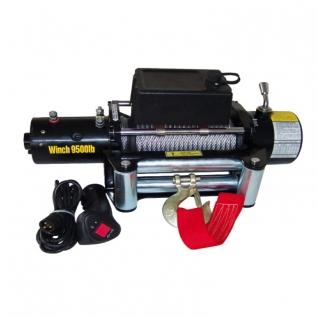 Лебедка автомобильная ATV Electric Winch 12v 9500 LBS