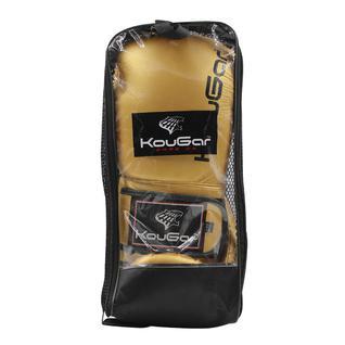 Перчатки боксерские Kougar Ko600-8, 8oz, золото