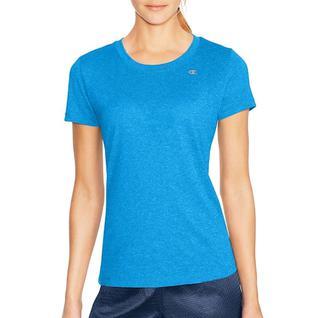 Спортивный футболка с короткими рукавами голубой L A7963 Champion