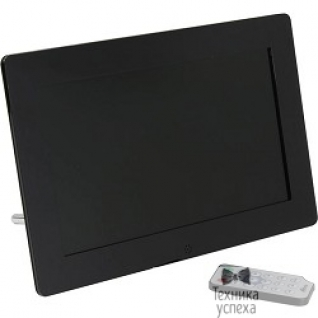 "Ritmix RITMIX RDF-1010 Black 10,1"" цифровая фоторамка, 16:9, 1024:600, фото+аудио+видео+календарь, часы, форматы: MP3, WMA, JPEG, MP3, WMA, MPEG1/2/4,AVI, M-JPEG, слайд-шоу, черный"