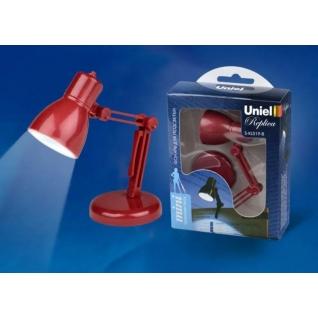 Фонарь-лампа светодиодная Uniel S-KL019-B Красная 1Вт