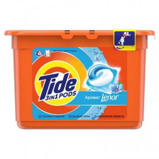 Капсулы для стирки Tide Touch of Lenor автомат 15х 24,8  (6шт/уп)