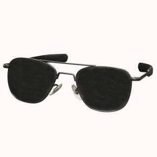 Rothco Очки авиаторы солнцезащитные 52 мм, цвет черный