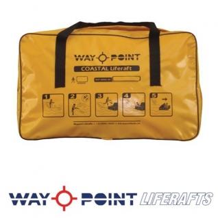Waypoint Спасательный плот в сумке Waypoint Coastal 4 чел 60 x 41 x 23 см