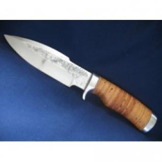 Нож - ГарпунСТ-24Дамаская стальМатериал рукоятиОрех + дюраль