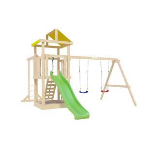 Igragrad Детская деревянная площадка для дачи Igragrad Панда Фани Baby с рукоходом