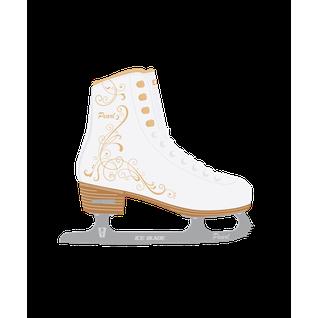 Коньки фигурные Ice Blade Pearl синт.кожа с мехом размер 36