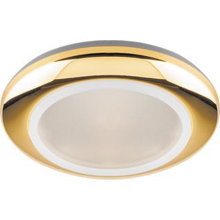 Светильник встраиваемый Feron DL202 MR16 G5.3 золото