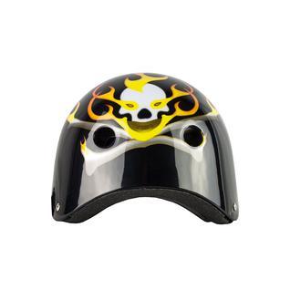 Ролик. шлем Maxcity Graffity Flame, черный (s)