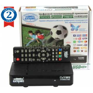 Цифровой ресивер DVB-T2 Electronics VV8901HD