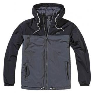 Brandit Куртка-ветровка Brandit Harris, цвет черно-антрацитовый