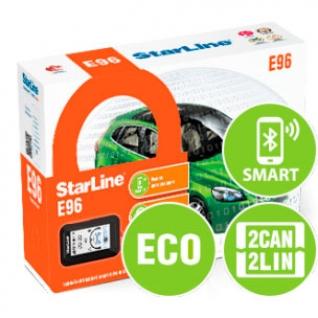 Автосигнализация StarLine E96 BT 2CAN+2LIN ECO StarLine
