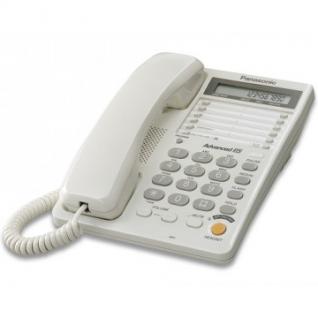 Телефон Panasonic KX-TS2365RUW белый,память 30 ном.
