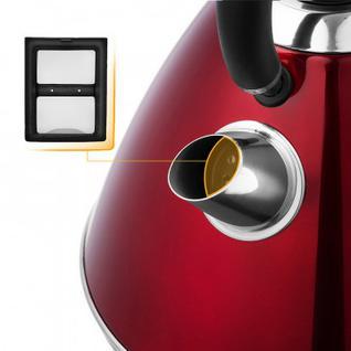 Чайник Kitfort КТ-644-3 красный