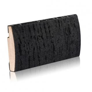 Декоративный профиль кожаный ЭЛЕГАНТ Fluffy 55 мм (черный, белый, шоколад)