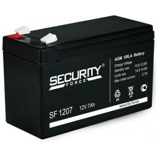 Аккумулятор 7,2 Ач 12 В для эхолотов Security Force SF 1207