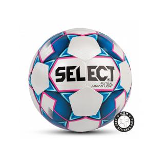 Мяч футзальный Select Futsal Mimas Light 852613, №4, белый/синий/розовый (4)