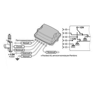 Модуль управления замком капота Pandora HM-06