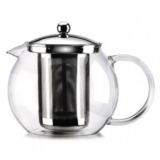 Стеклянный заварной чайник 0,7 л - 4 порции