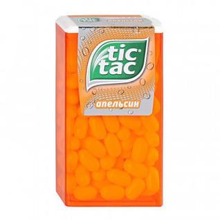 Драже Tic Tac со вкусом Апельсина, 49г