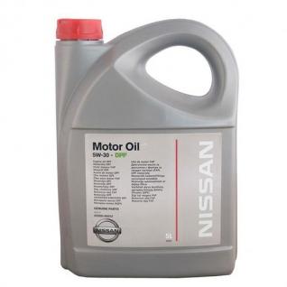Масло моторное синтетическое Motor Oil DPF 5W-30 5L