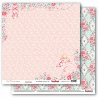 Набор бумаги для скрапбукинга 30,5х30,5см,190гр/м,Маленькая принцесса
